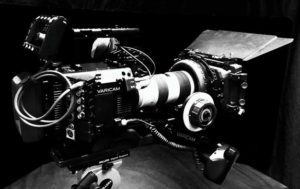 image of VariCam LT camera with matte box